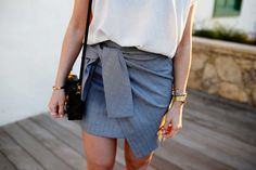 The perfect knot skirt