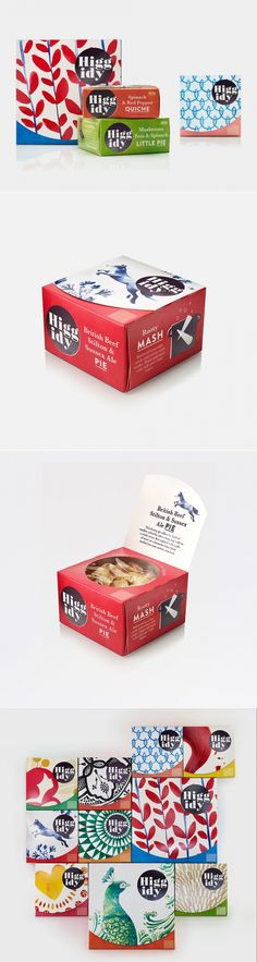 Get Higgidy With This Eclectic Packaging — The Dieline - Branding & Packaging Design