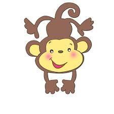 Resultado de imagen para imagenes animadas de monos para colorear