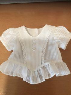Baby Girl Frocks, Frocks For Girls, Kids Frocks, Little Girl Dresses, Baby Girl Fashion, Kids Fashion, Toddler Fashion, Kids Dress Wear, Baby Dress Design