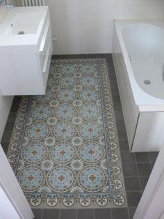 Mijn vergaarbak van leuke ideeën die ik wil toepassen in mijn huis. - Portugese tegels in de badkamer
