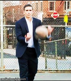 """emelinelovesjc: """" John Reese/Jim Caviezel Appreciation Post - My Gifs. POI Rewatch/Marathon ~ Favourite Character : Reese. Person Of Interest One Percent [2.14]. """" Aaaaaah Emeline ………what you do to us..."""
