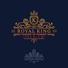 Leon Logo, Free Letterhead Templates, Barber Logo, Royal Logo, Royal King, H Logos, Horse Logo, Luxury Logo, Boutique Logo
