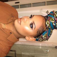 """""""Tonight's makeup :) #MotivesTakesMiami"""""""