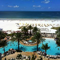 Sand Pearl Resort, Clearwater Beach, FL this weekend! Florida Hotels, Florida Vacation, Florida Travel, Florida Beaches, Florida Trips, Family Vacation Spots, Vacation Places, Dream Vacations, I Love The Beach