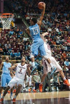 North Carolina Tar Heels vs. Virginia Tech Hokies - Photos - March 01, 2014 - ESPN