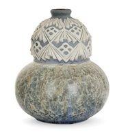 Vase coloquinte par Mougin Frères