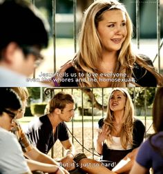 lol @ easy a Love Film, Love Movie, Teen Movies, Good Movies, Awesome Movies, Michael Scott Quotes, Bend It Like Beckham, Favorite Movie Quotes, Movies Worth Watching