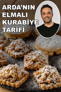 East Dessert Recipes, Desert Recipes, Snack Recipes, Desserts, Apple Recipes, Sweet Recipes, Subway Cookie Recipes, Oats Snacks, Turkish Sweets