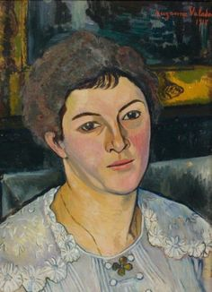 A self portrait BY Suzanne Valadon, a self-taught french painter, and mother of Maurice Utrillo. Description from pinterest.com. I searched for this on bing.com/images