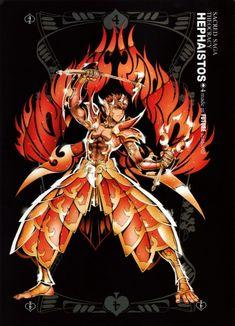 Saint Seiya: Future Studio ~ Hephaestus God of the Forge