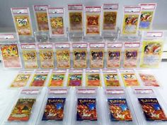 PSA Pokémon Charizard Individual Cards for sale Pokemon Pins, Pokemon Cards, Pokemon Charizard, First Pokemon, Home Activities, Wizards Of The Coast, Pinball, Trading Cards, Fun