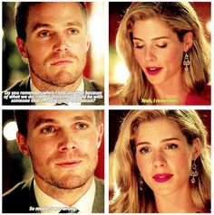"""Arrow - Oliver and Felicity #3.1 #Season3 #Olicity ♥ """"So maybe I was wrong"""" <3"""