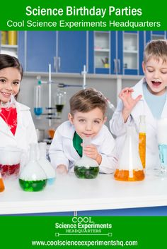 Easy Science Experiments, In Kindergarten, Middle School, Birthday Parties, Have Fun, Homeschool, Learning, Party, Teaching High Schools