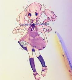 #anime #girl #drawing