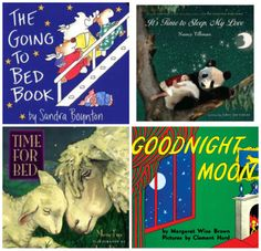 Nighttime Bedtime books for toddlers: The Going to Bed Book by Sandra Boynton, It's Time to Sleep My Love by Nancy Tillman and more