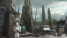 Details Announced for Star Wars-Themed Lands for Disney Parks