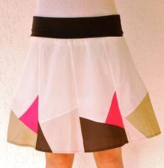 crafterhours: Skirt Week: Pieced A-Line Skirt