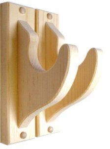 Classic Pine Wall Mount Gun Rack Hangers Rifle Shotgun or Sword Display Wall Tv Stand, Woodworking Plans, Woodworking Projects, Pine Walls, Gun Storage, Concrete Wall, Wood Wall, Wall Mounted Tv, Diy Wood Projects
