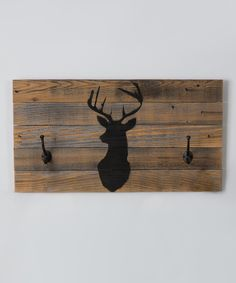 DelHutson Designs Stag Coat Hook | zulily