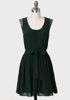 Serendipitous Moment Embellished Dress at www.shopruche.com. LOVE this hunter green. the sequin cap sleeves are the type of detail that makes this dress stand out! 44.99