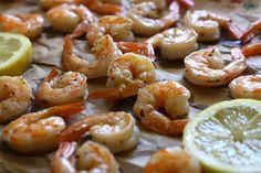 Lemon roasted shrimp cocktail — sounds delicious!
