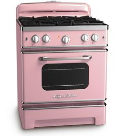 Big Chill Stove modern appliances with vintage mid-century styling