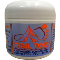 If you run long distances and have ever chafed, this stuff rocks!  Puts Body Glide to shame.  Highly recommend. Trail Toes ™ Cream