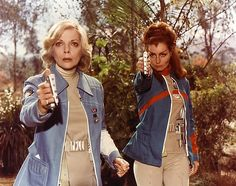 SPACE 1999 actors Barbara Bain and Catherine Shell