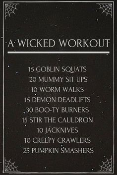 Get this candy crushing workout in before the festivities! Move Reference: Goblin Squats - Goblet Squats Mummy Sit Ups- Sit Ups Worm Walks - C Fun Workouts, At Home Workouts, Workout Classes, Fitness Tips, Health Fitness, Crossfit Kids, Yoga Sculpt, Holiday Workout, Boot Camp Workout