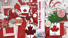 Strong & Free Canada by Dae Designs