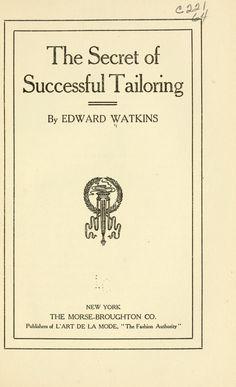 The secret of successful tailoring