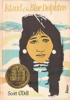'Island of the Blue Dolphins' concerns a young Native American girl left alone on an island for 18 years after her people are forced to leave the island without her.
