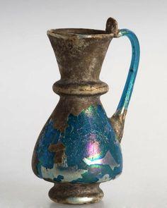Miniaturhenkelkrug, spätrömisch, sasanidisch bis frühislamisch