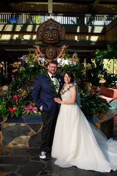 After Nick proposed at Disneyland, he and Danielle chose Disney for their 2019 wedding because they wanted it to be simple and easy to plan!