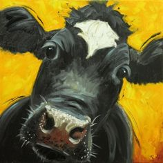 Drunken Cows - Whimsical Fine Art by Roz♥•♥•♥