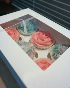 Cupcakes & Coffee! www.cupcakesncoffee.co.uk #cupcakes #baker #bakery #homemade #cornwall #southwest #tasty #cupcake #cupcakeideas #compote #spring #summer #mother #mothersday #rose #hydrangea #flowers #pastel #pink #selectionbox #mum #gift #vanilla