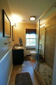 Small narrow bathroom ideas google search bathroom for Bath remodel baltimore