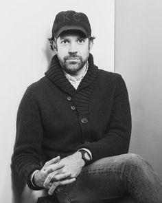 Jason Sudeikis wearing a BALDWIN KC hat