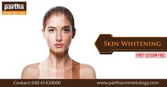 Glow Your Skin Like Never Before, We Introduce our Skin Lightening Treatment. First Session Free.Experience the real beauty of your skin. Skin And Hair Clinic, Real Beauty, Whitening, Skincare, Glow, Free, True Beauty, Skincare Routine, Skins Uk