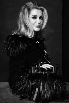 Catherine Deneuve for Louis Vuitton SS 2013 Campaign by Steven Meisel