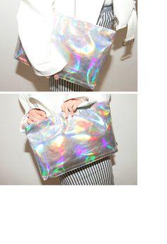 프리즘실버클러치   FashionShop【STYLENANDA】