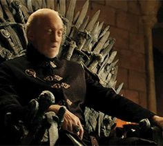 Charles Dance in the bloopers