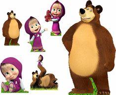 marsha e o urso festa infantil - Pesquisa Google