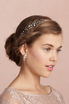 Cassis Headband in The Bride Veils & Headpieces at BHLDN