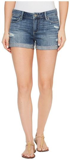 Paige Jimmy Jimmy Shorts with Raw Hem in Alta Destructed (Alta Destructed) Women's Shorts - Paige, Jimmy Jimmy Shorts with Raw Hem in Alta Destructed, 3425712-3857-W3857, Apparel Bottom Shorts, Shorts, Bottom, Apparel, Clothes Clothing, Gift, - Fashion Ideas To Inspire