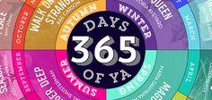 365 Days of YA: A 2015 Reading Calendar!