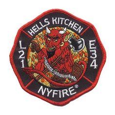 NYFIRE Ladder 21 / Engine 34 Hell's Kitchen Patch #NYFire #FDNY #hellskitchen