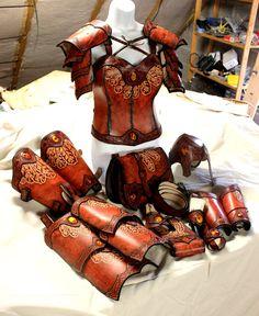 Female full set of armor by akinra-workshop.deviantart.com on @DeviantArt
