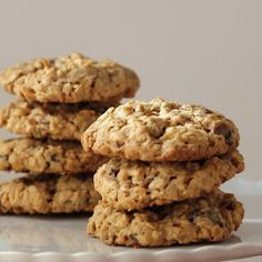Cookistry: Oatmeal Date Cookies